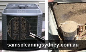 Ducted heating and cooling Cleaning Jerrara