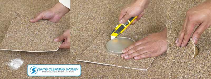 Patch Damaged Carpeting Manahan